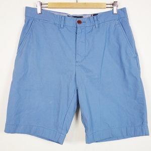 Tommy Hilfiger Blue Cotton Chino Shorts 34 Men's